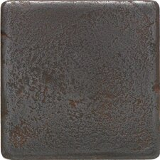 """Castle Metals 4"""" x 4"""" Decorative Wall Tile in Wrought Iron"""
