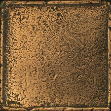 Metal Signatures Chateau Stone Glazed Field Tile in Aged Bronze