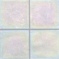"""Cristallo Glass 4"""" x 4"""" Field Tile in Aquamarine"""