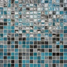 "City Lights 0.5"" x 0.5"" Glass Mosaic Tile in Rio"