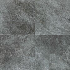Continental Slate 18'' x 18'' Porcelain Field Tile in English Grey