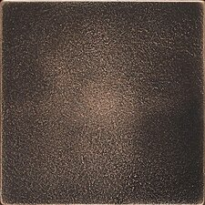Ion 4.25'' x 4.25'' Metal Field Tile in Antique Bronze