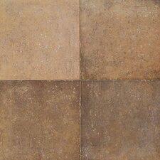 Terra Antica 6'' x 6'' Porcelain Field Tile in Oro