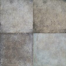 Terra Antica 12'' x 12'' Porcelain Field Tile in Grigio