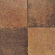 Terra Antica 12'' x 12'' Porcelain Field Tile in Rosso