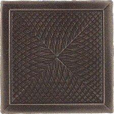 """Urban Metals 2"""" x 2"""" Spiral Decorative Dot in Bronze"""