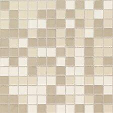 "Keystones Blends 1"" x 1"" Ceramic Mosaic Tile in Beach"