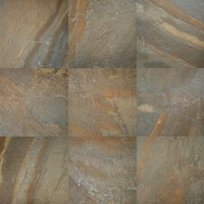 Ayers Rock 6.5'' x 6.5'' Porcelain Field Tile in Rustic Remnant