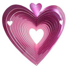 Heart Wind Spinner