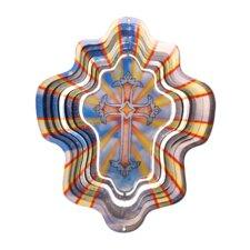 Designer Animated Cross Wind Spinner