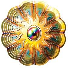 Designer Gazing Sun Wind Spinner