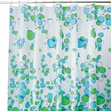 Bubblz Frosted Shower Curtain (Set of 2)