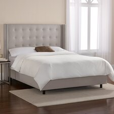 Napa Upholstered Wingback Bed