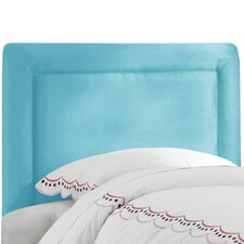 Border Micro Suede Upholstered Headboard
