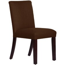 Upholstered Linen Uptown Side Chair