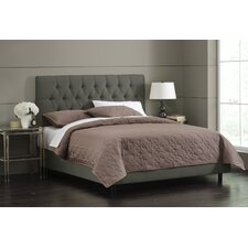 Linen Tufted Panel Bed
