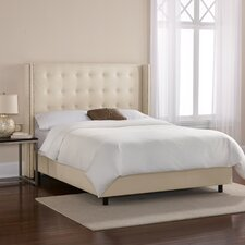 Chambers Wingback Panel Bed