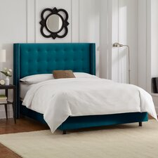 Mystere Wingback Panel Bed
