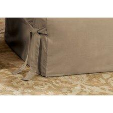 Cotton Duck Chair T-Cushion Slipcover