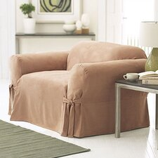 Soft Suede Chair Slipcover