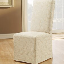 Scroll Classic Fit Dining Chair Slipcover