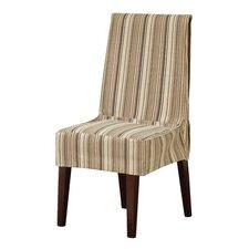 Harbor Stripe Shorty Parson Chair Slipcover