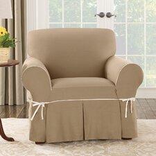 Cotton Duck Club Chair Slipcover