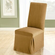 Stretch Pique Dining Chair Slipcover