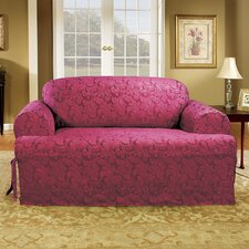 Scroll Classic Fit Loveseat Slipcover