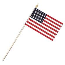 Hand Held American Flag