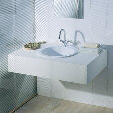 Silhouette Drop-In Bathroom Sink