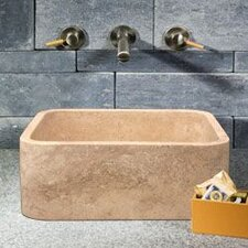 Rectangular Shape Vessel Bathroom Sink