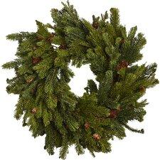 Pine & Pinecone Wreath