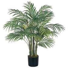 Silk Areca Palm Tree in Pot