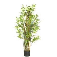 Silk Bamboo Grass Round Pot