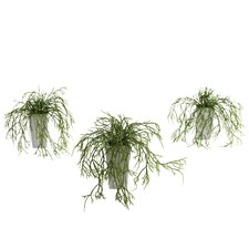 Nearly Natural Wild Grass Desk Top Plant in Decorative Vase
