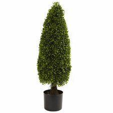 Nearly Natural Round Topiary in Pot