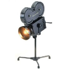 "Projector 14"" H Table Lamp with Bowl Shade"
