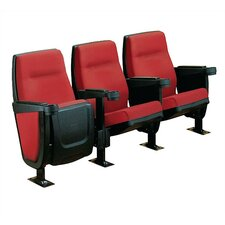 Forum Row of Three Movie Theater Chairs