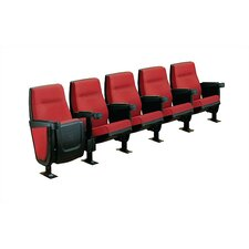 Forum Row of Five Movie Theater Chairs