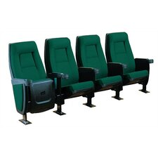 Presidential Row of Four Movie Theater Chairs