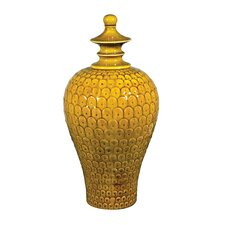 Medium Lidded Decorative Urn