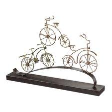 Little Borough Bicycle Sculpture (Set of 2)