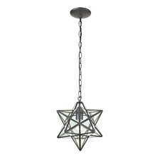 1 Light Star Pendant
