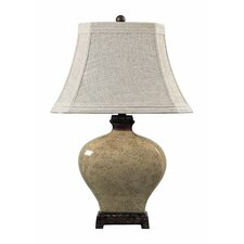 "Sky Valley 29"" H Table Lamp with Bell Shade"