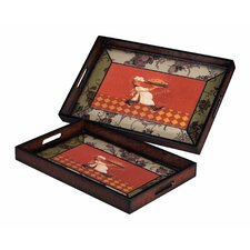 Busy Chef Trays (Set of 2)