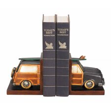 Vintage Vacation Book Ends (Set of 2)