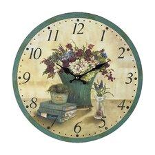 """13"""" Bouquet Wall Clock"""