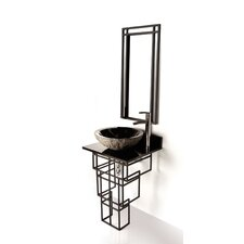 "Iron Mission 22"" Single Bathroom Vanity Set"