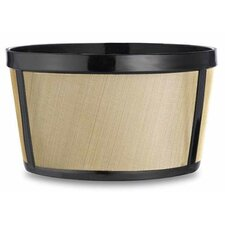 4 Cup Permanent Basket Style Coffee Filter (Set of 6)